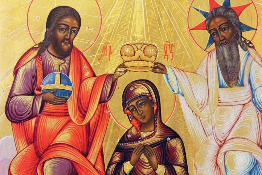 "Icon ""Coronation Of The Virgin"" - photo 3"