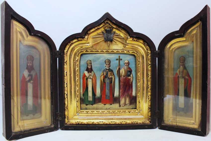 """The folding icon """"the Selected saints"""" - photo 1"""