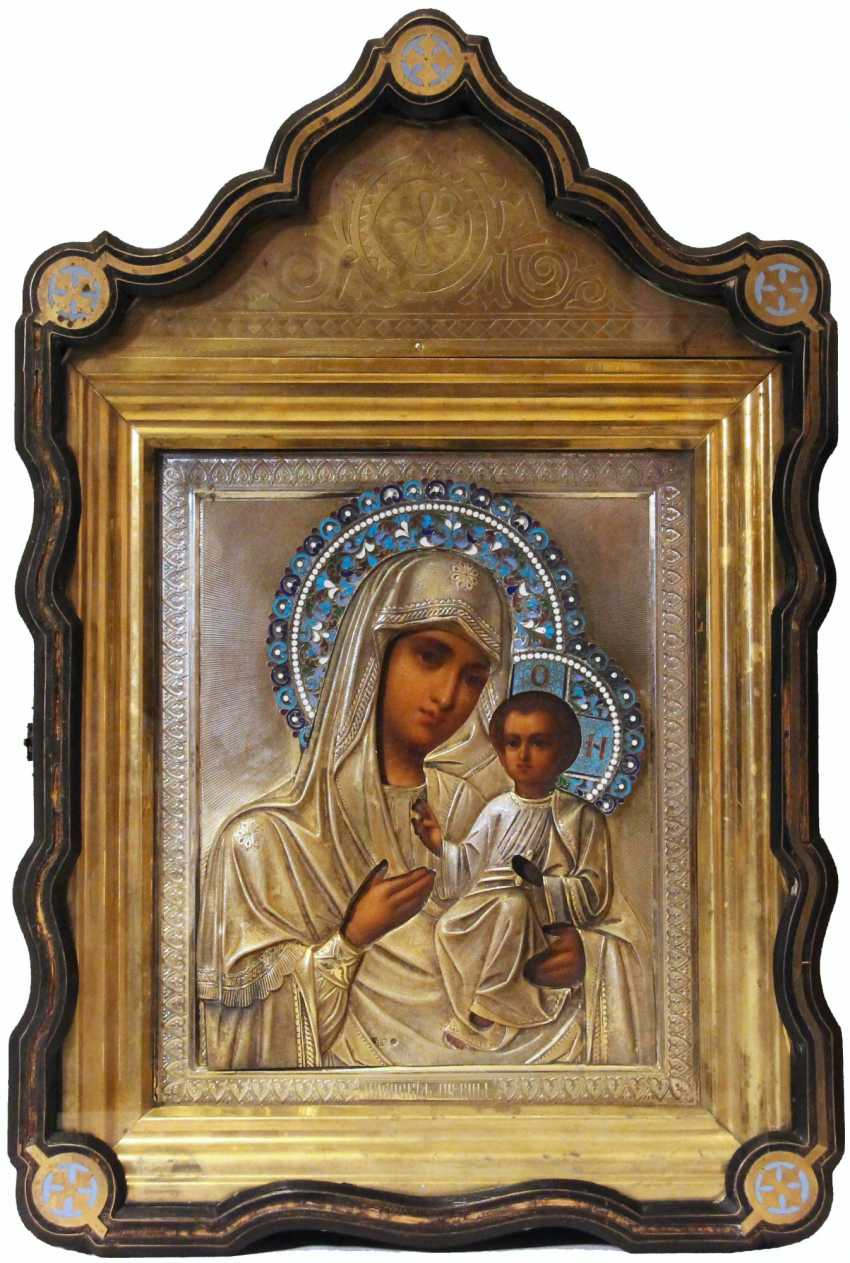 """The Icon Of The Mother Of God """"Iveron"""" - photo 1"""