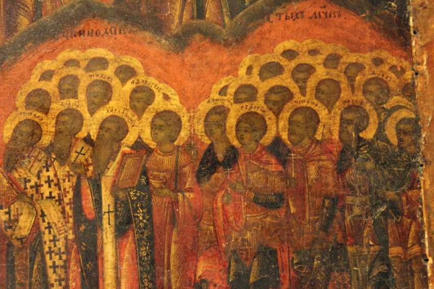 """The Icon Of """"All Saints Sunday"""" - photo 3"""
