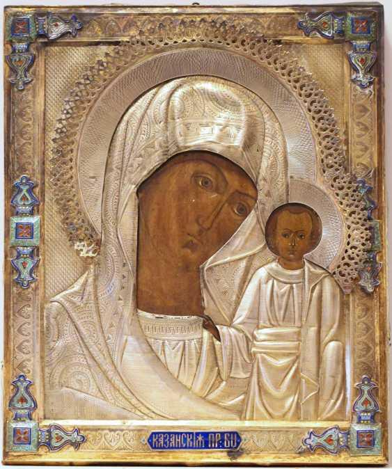 """Ikone Der Gottesmutter Von """"Kazan"""" - Foto 1"""