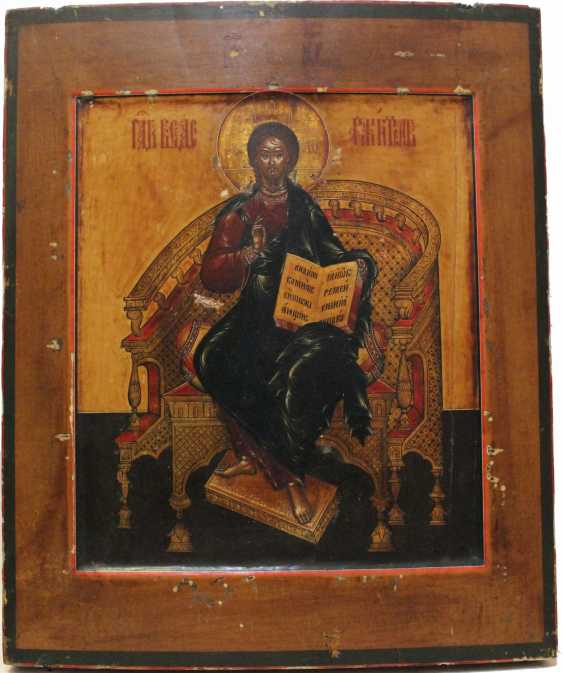 "The icon ""Saviour on the throne"" - photo 2"