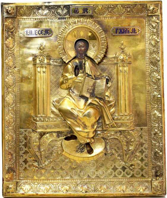 "The icon ""Saviour on the throne"" - photo 1"