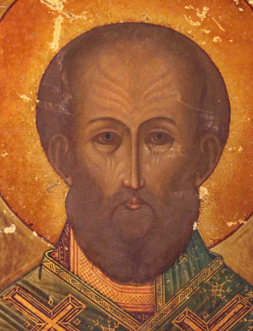 "The Icon ""St. Nicholas The Wonderworker"" - photo 1"
