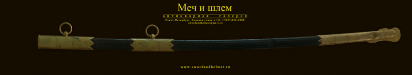 The marine officer's sword in sheath - photo 2