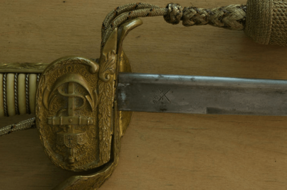The marine officer's sword in sheath - photo 3