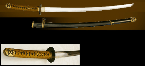 "Sword of the marine officer ""Shin-gunto"" in sheath. - photo 1"