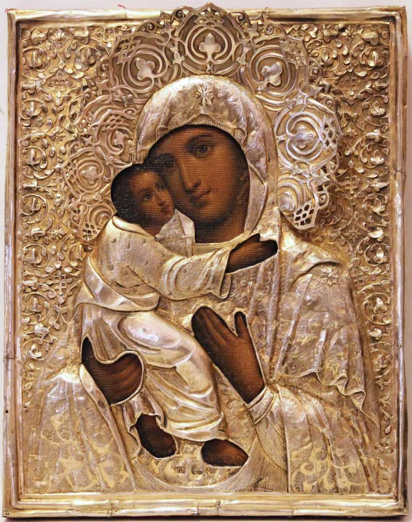 Icon Mother Of God Vladimirskaya - photo 2
