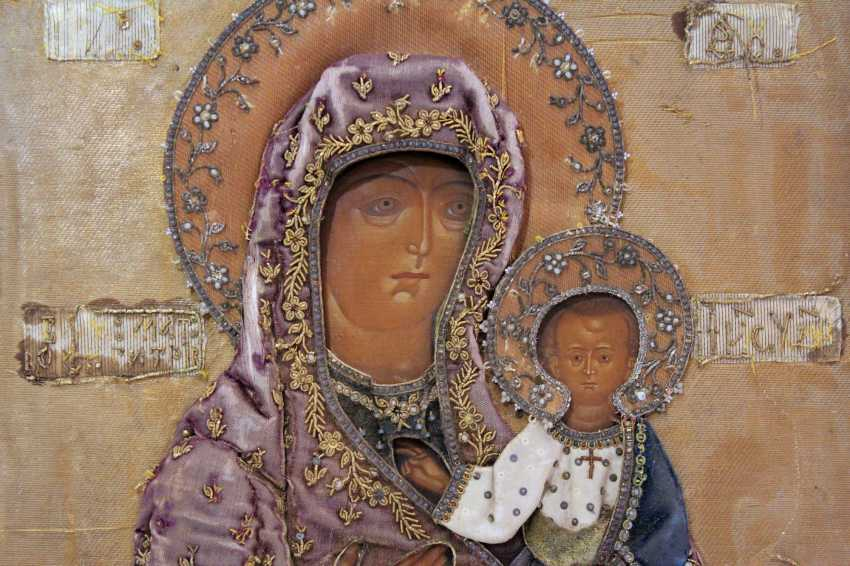"""The Icon Of The Mother Of God """"Hodegetria"""" - photo 3"""