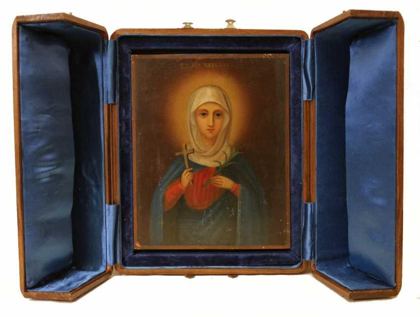 """Icon """"Saint Tatiana"""" - photo 1"""