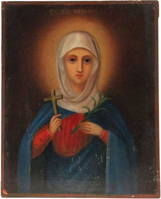 "Icon ""Saint Tatiana"" - photo 2"