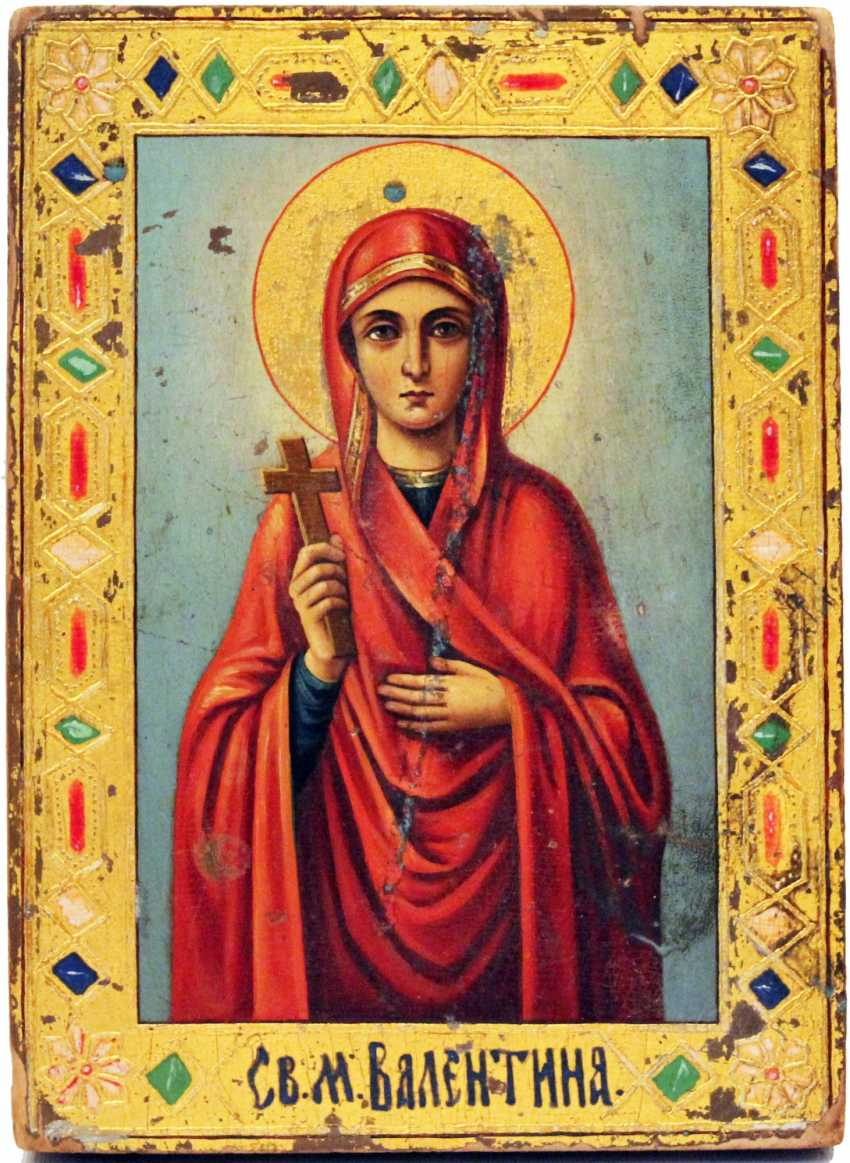 "Icon ""Saint Valentine"" - photo 1"