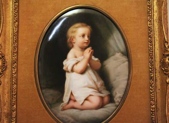 "Plast porcelain ""Child at prayer"" - photo 2"