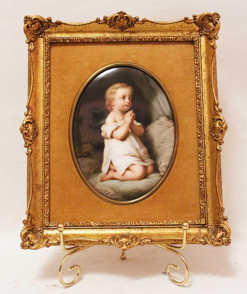 "Plast porcelain ""Child at prayer"" - photo 1"