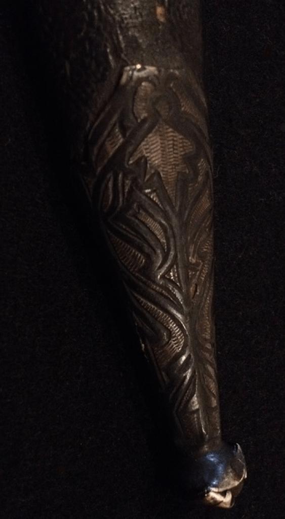 """A Caucasian dagger """"Bebutov"""" in the scabbard, XIX century - photo 3"""