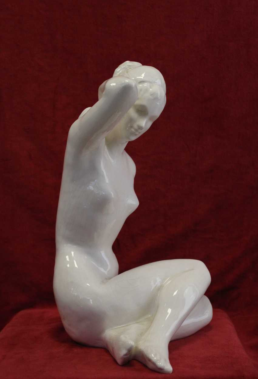 "The sculpture ""Nude"", XX century - photo 4"