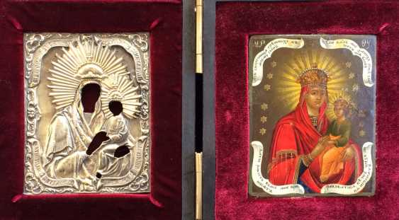 """The icon of the mother of God """"surety of sinners"""".St. Petersburg, 1860. - photo 1"""