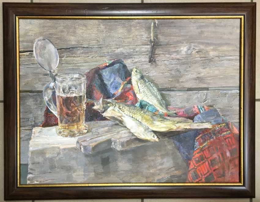 """Khodorovich, V. P., """"still life with glass of beer"""". - photo 3"""