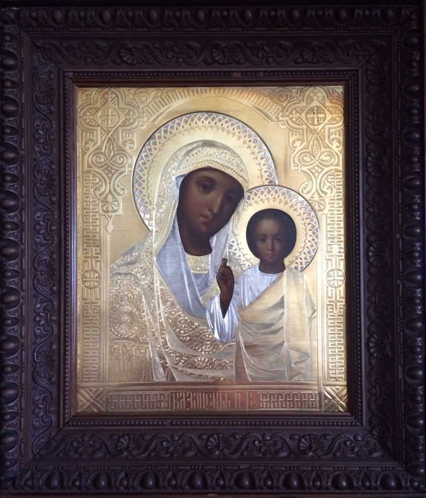 "Icon ""Kazan Mother Of God"". Moscow, 1886. 84 sample - photo 2"