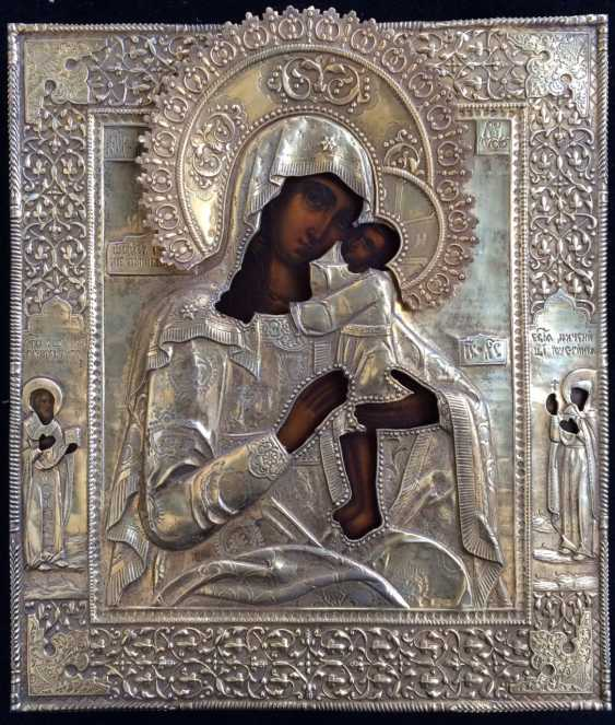 """The Icon """"Seeking Of The Lost Holy Mother Of God"""". Moscow, 1895, 84 sample. - photo 1"""