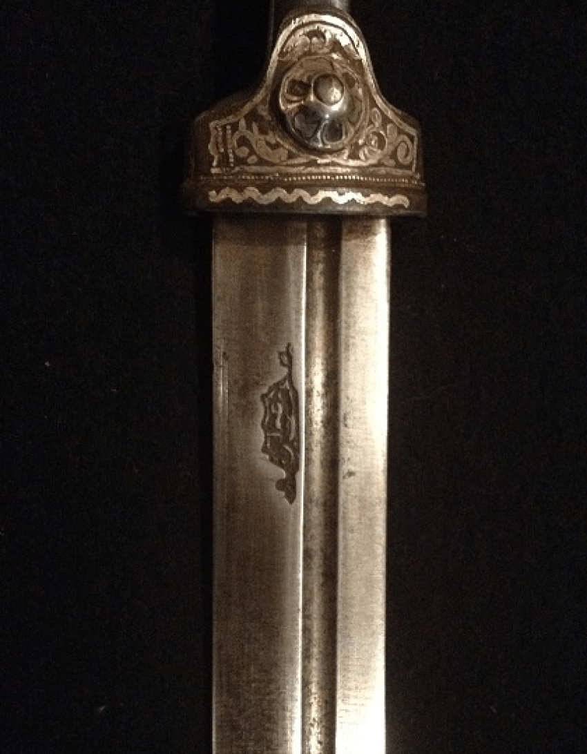 Caucasian dagger with scabbard - photo 2