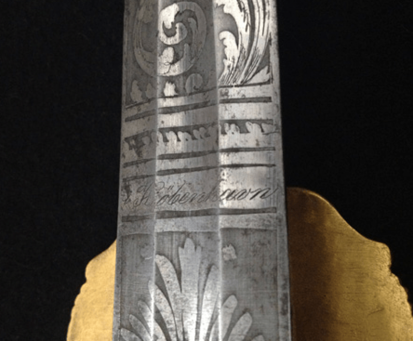 Hunting dagger with scabbard XIX century. - photo 2