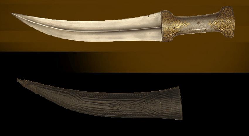 """Dagger """"Bebutov"""" in sheath. - photo 1"""