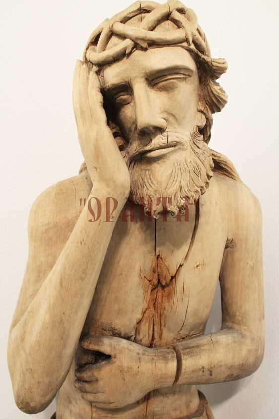 "The sculpture ""Christ in the prison"" - photo 2"