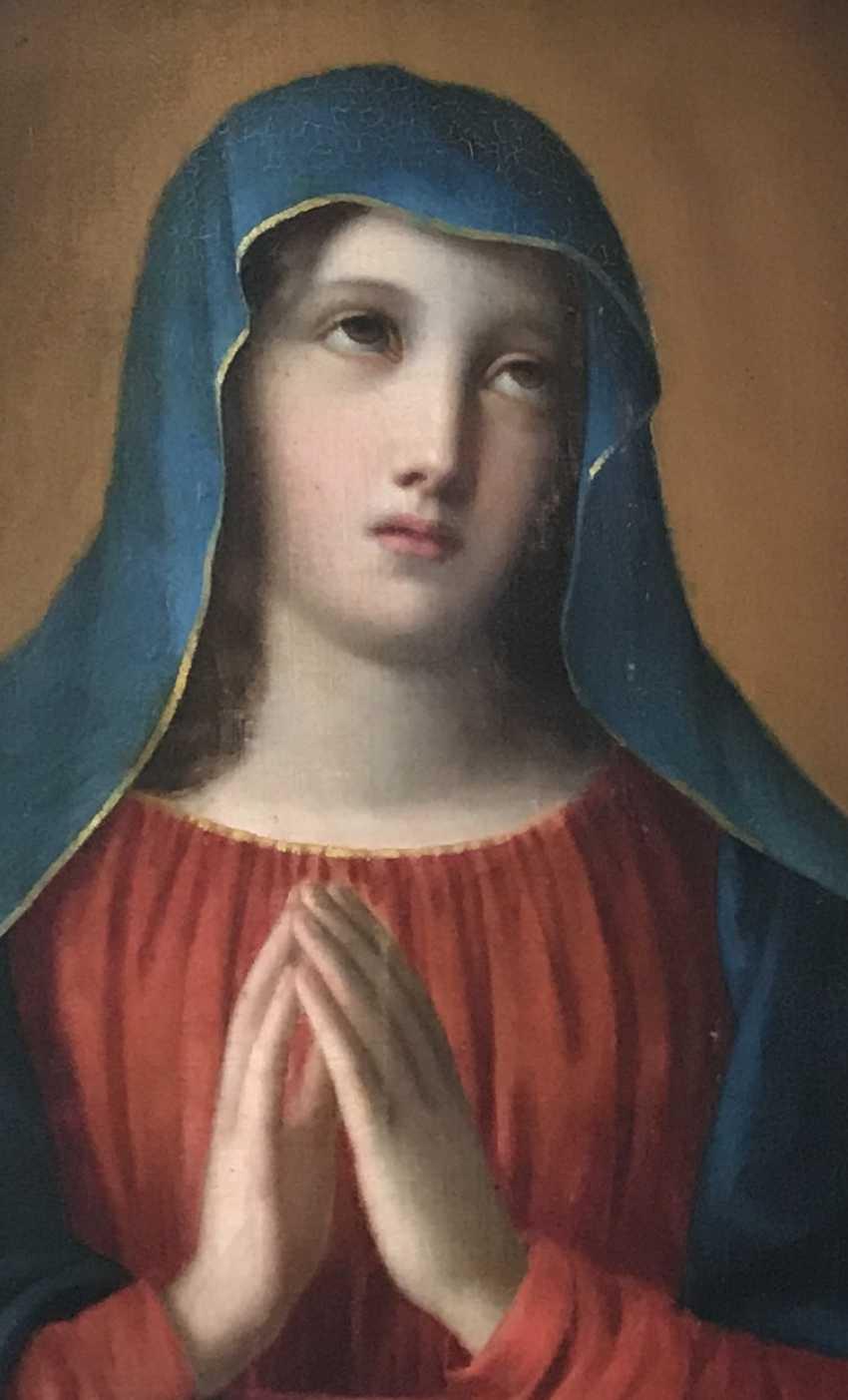 "The painting ""Madonna"", XIX century - photo 5"