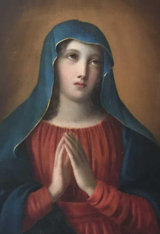 "The painting ""Madonna"", XIX century - photo 4"