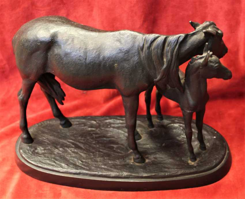 """The sculpture """"Mare with foal"""", 1951 - photo 3"""