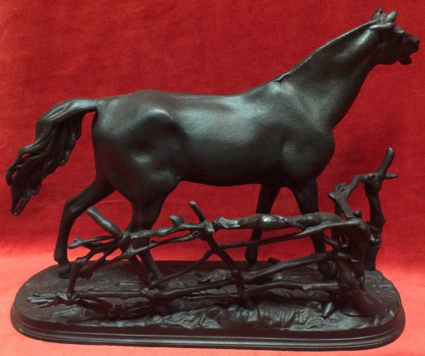"Kasli,1903.""The horse in the fence"" (""Genie""). Kasli,1903 - photo 3"