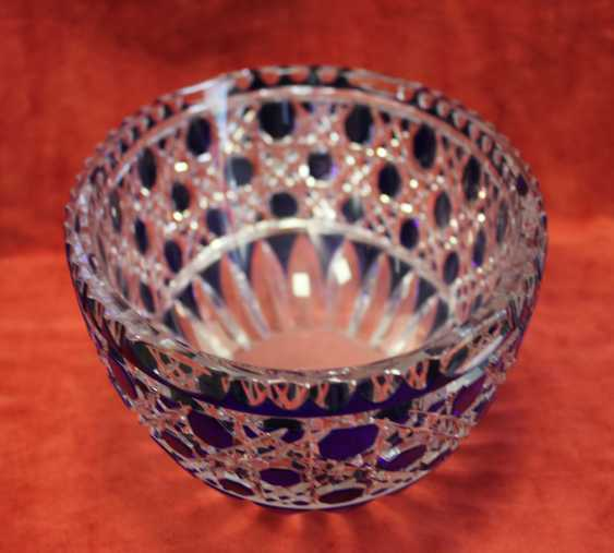 A bowl glass, 1-I floor. XX century - photo 3