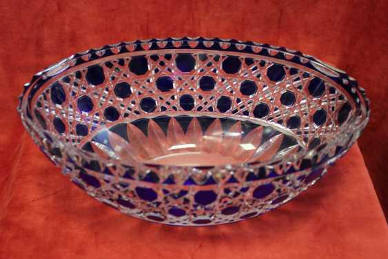 A bowl glass, 1-I floor. XX century - photo 2