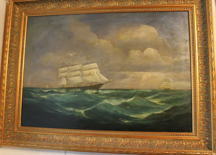 "The painting ""Sea"", 1907 - photo 1"