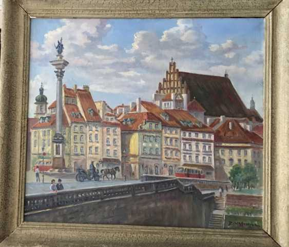 """The Painting """"Warsaw"""", D. Wasowicz. - photo 1"""