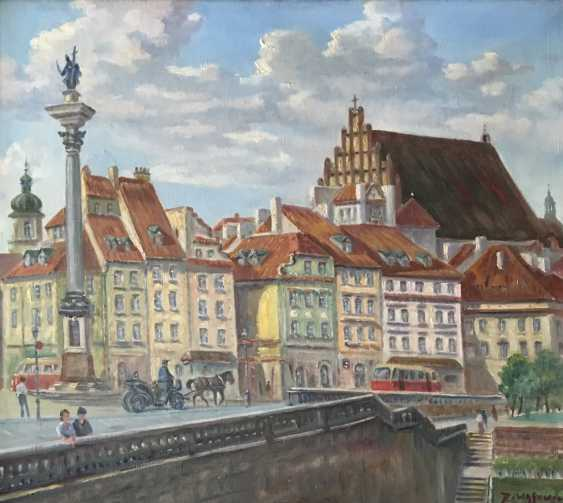 """The Painting """"Warsaw"""", D. Wasowicz. - photo 2"""