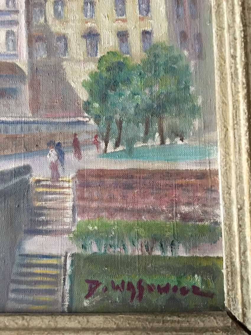 """The Painting """"Warsaw"""", D. Wasowicz. - photo 3"""