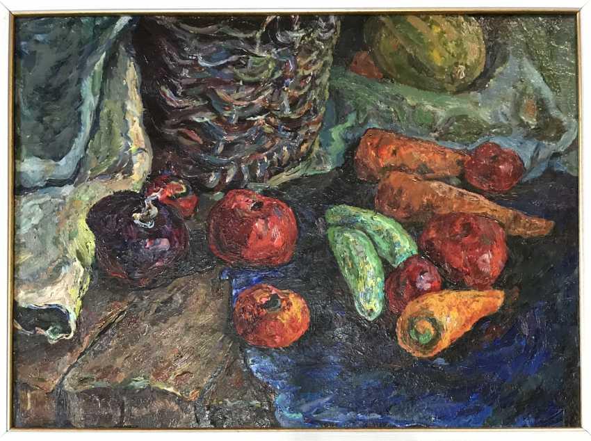 "The Painting ""Still Life"". Tyurin V. P. 1992. - photo 3"