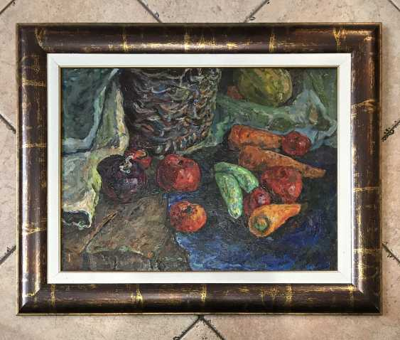 "The Painting ""Still Life"". Tyurin V. P. 1992. - photo 1"