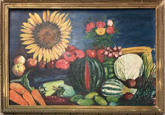 """The painting """"still life with vegetable"""". Tyurin V. P. - photo 1"""