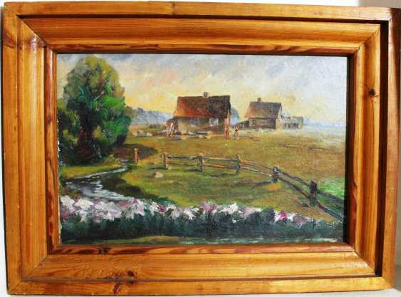 "The Painting ""Farm Sacla"" W. Pajiba. 1977 - photo 1"