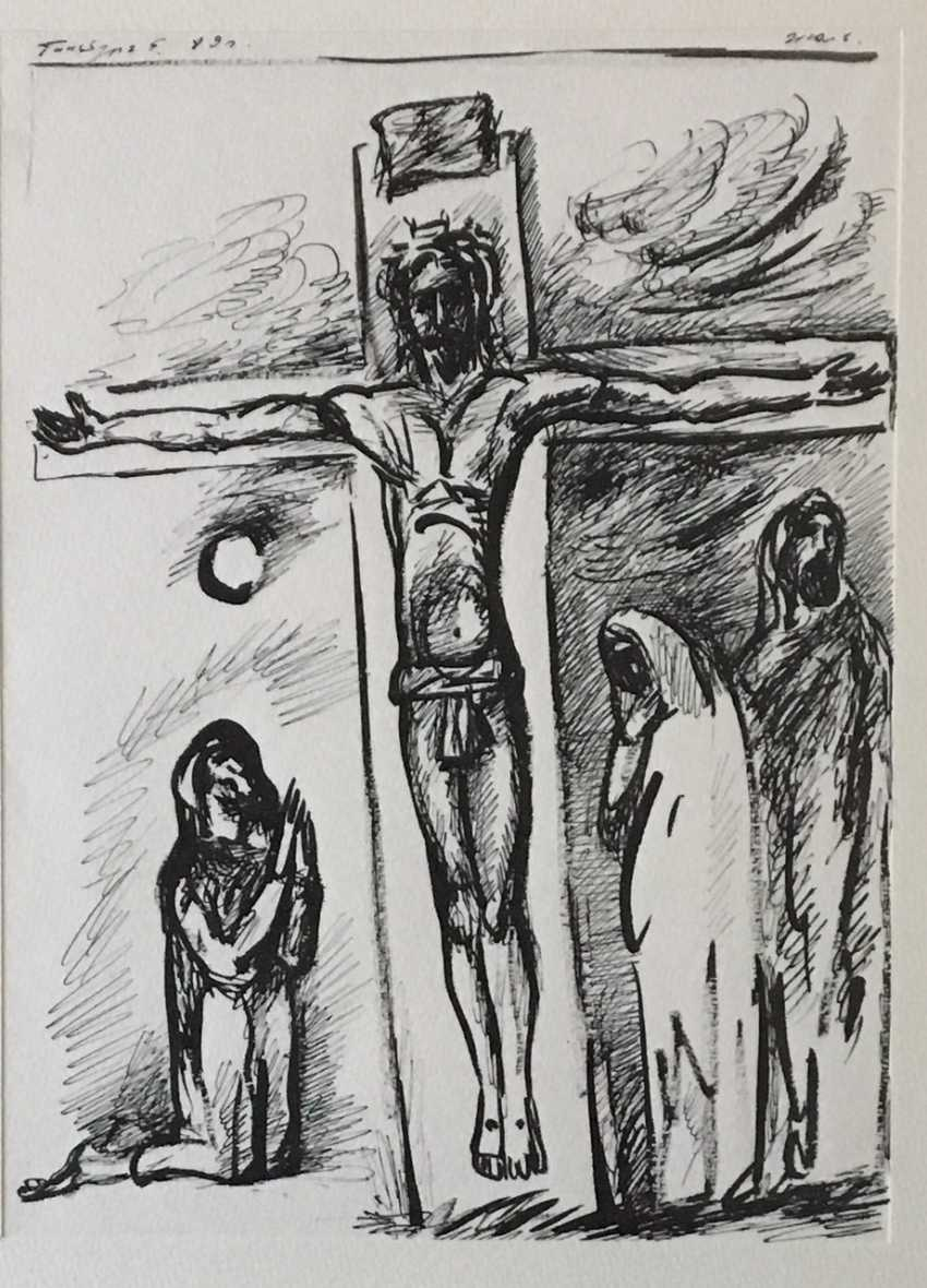 "Ginzburg, E. M."" The Crucifixion"" - photo 2"