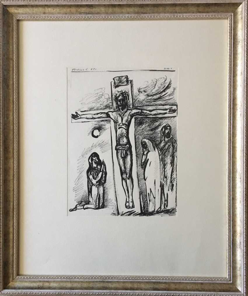 "Ginzburg, E. M."" The Crucifixion"" - photo 1"