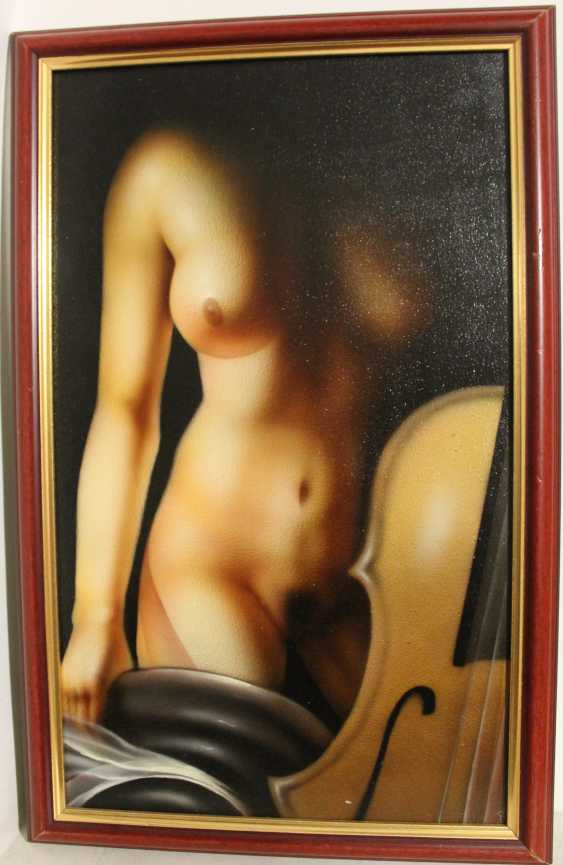 A pair of paintings of Nude, XX century. - photo 2