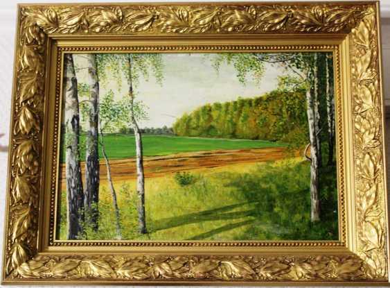 "The painting ""Birches"", the twentieth century - photo 1"