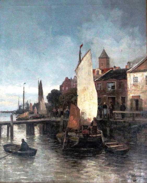 "Wagner Karl Theodor. ""Marina"", XIX - n. XX centuries. - photo 1"