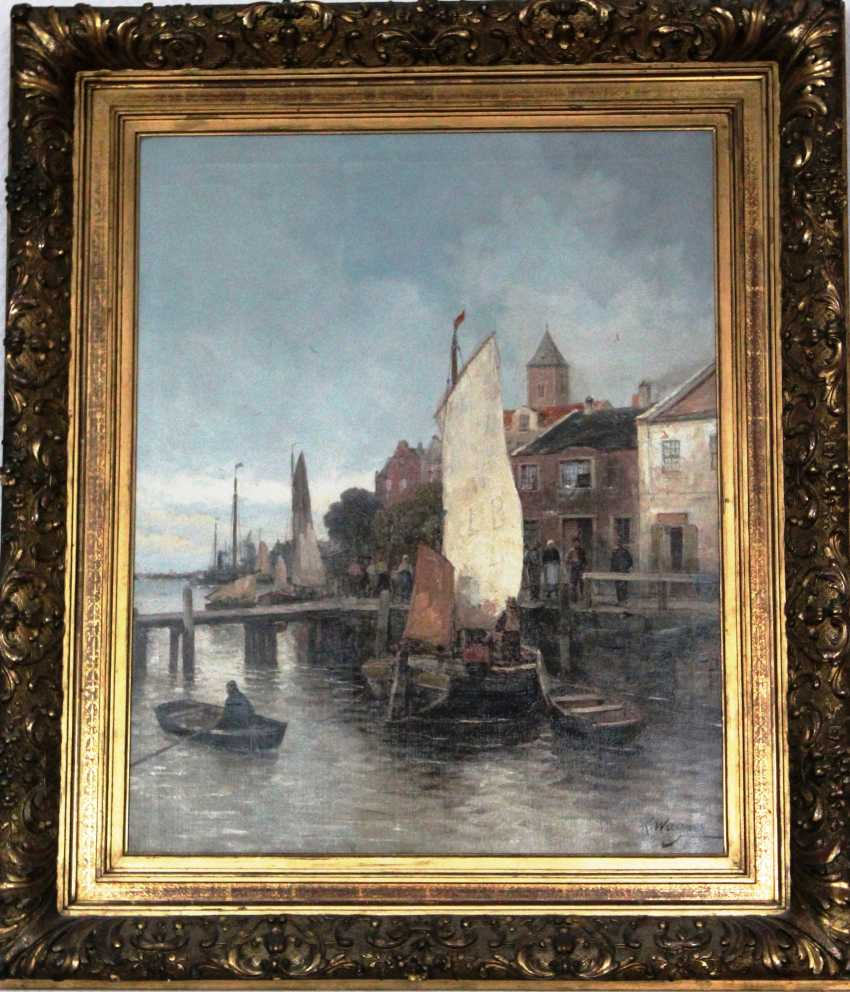 "Wagner Karl Theodor. ""Marina"", XIX - n. XX centuries. - photo 2"