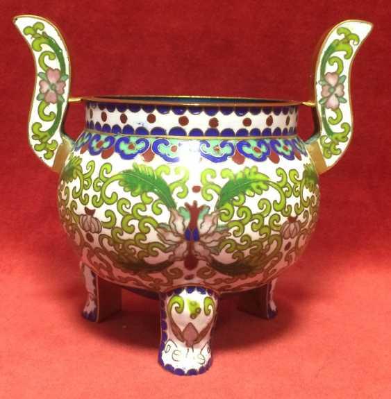 Cloisonne.Vase caviar. China, 1-I floor.XX - ser. XX centuries. - photo 2