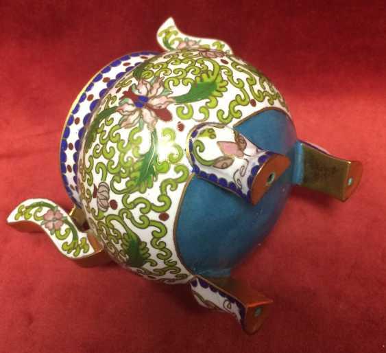 Cloisonne.Vase caviar. China, 1-I floor.XX - ser. XX centuries. - photo 3